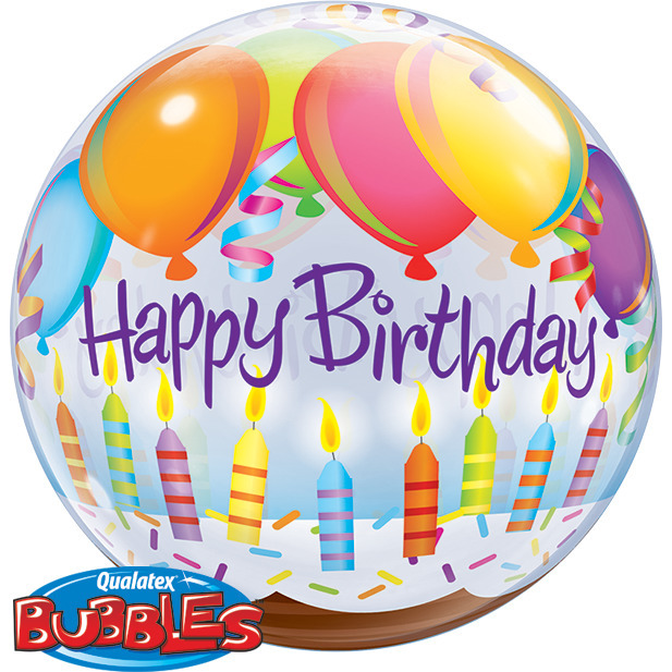 Birthday Bubble Balloons