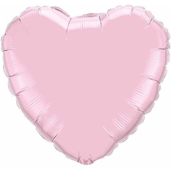 45cm Foils - Solid Colour Hearts